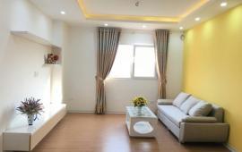 Cho thuê căn hộ nội thất tiện nghi, DT 110m2, 3 ngủ chung cư,165 Thái Hà