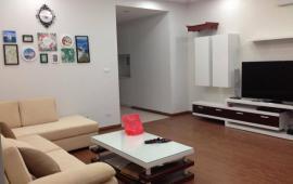 Cho thuê căn hộ chung cư Hapulico dt 139.6m2, 3pn, đủ đồ, view đẹp, giá rẻ
