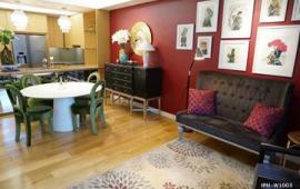 Cho thuê căn hộ 3 phòng ngủ , đồ cơ bản , căn góc tòa R6 tại chung cư cao cấp Royal City.