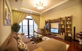 Cho thuê căn hộ 120m2 Indochina Plaza IPH, tầng 19, 3PN, căn góc, đủ đồ, giá 28tr/th. 0973756663