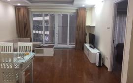 Cho thuê căn hộ chung cư  tòa nhà 125 Hoàng Ngân, 3 ngủ đủ đồ, giá 15,5tr vào luôn