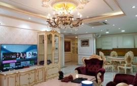 Cho thuê chung cư Thăng Long Number One 150m2 đủ nội thất hoàng gia (ảnh thật sang trọng)