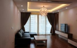 Cho thuê chung cư cao cấp Thang Long Number One, căn góc, 4 PN, 161m2, đủ đồ. LH: 0985024383