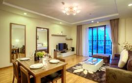 Cho thuê căn hộ 120m2 Indochina Plaza IPH, tầng 19, 3PN, căn góc, đủ đồ, giá 28tr/th
