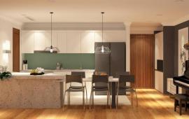 Cho thuê Vinhomes tầng 22, 127m2, 3 phòng ngủ sáng, nội thất mới 24 tr/tháng. LH 0985 024 383