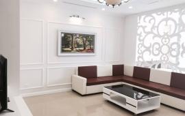 Tôi cần cho thuê căn hộ tại R5 Royal City, 93m2, 2PN, đủ đồ, view vườn hoa, bể bơi, 16 tr/tháng