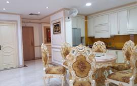 Cho thuê căn hộ CC Thăng Long Number One (Căn Góc) dt 143m2 3pn, đủ đồ, giá 22tr/th