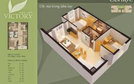 Chỉ 14tr/m2 chung cư Thăng Long Vitory, ở luôn. DT 69,8m2, 59,8m2. LH 0981 017 215.