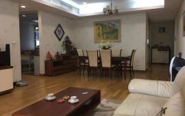 Cho thuê chung cư 27 Huỳnh Thúc Kháng 120m2, 3 ngủ đủ nội thất view hồ, sang trọng, lịch lãm