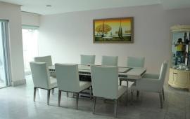 Cho thuê chung cư Hoàng Thành Tower 114 Mai Hắc Đế, căn Duplex 197m2, đủ nội thất cực đẹp