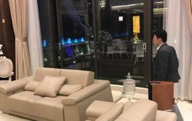Cho thuê căn hộ penthouse tại chung cư D2 Giảng Võ, 190m2, 3PN tầng cao view hồ đẹp