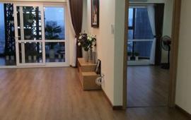 Cho thuê căn góc chung cư Hà Nội Center Point 85 Lê Văn Lương, 2 ngủ đủ đồ, giá 14 triệu
