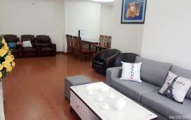 Cho thuê căn hộ chung cư Viện Khoa Học Chiến Lược Bộ Công An, 128m2, 3 PN, đủ đồ, 16 triệu/ tháng