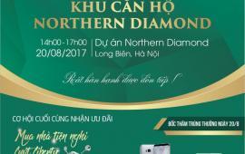Chỉ còn 5 ngày cuối nhận chính sách ưu đãi của CĐT dự án Northern Diamond
