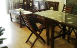 Cho thuê căn hộ chung cư Hòa Bình Green, 70m2, thiết kế 2 PN, 2WC, đồ cơ bản giá 9 triệu/tháng