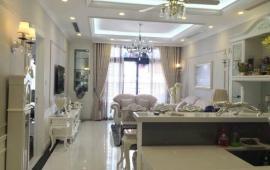 Cho thuê căn hộ chung cư Royal city , tòa R5,  136m, 3 ngủ, đủ đồ, 17 triệu/ tháng