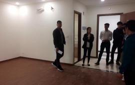 Chính chủ cho thuê căn hộ Eco Green City CT3 mới nhận nhà 3PN, đồ cơ bản, 9tr/tháng. LH 0983989639