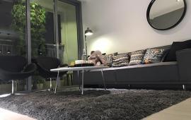 Cho thuê CHCC Golden Palace Mễ Trì, DT 128m2, 3 ngủ full nội thất xịn và đẹp, view SVĐ, giá 20tr/th