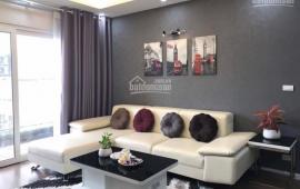 Cho thuê căn hộ chung cư CTM 139 Cầu Giấy, căn góc 3PN full nội thất cao cấp, tiện cho hộ GĐ thuê ở