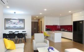 Cho thuê căn góc 139m2, 3 phòng ngủ, đầy đủ nội thất tầng 20, chung cư Sky City 88 Láng Hạ