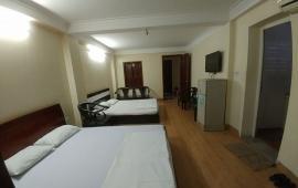 Cho thuê căn hộ trong tòa khách sạn tại mặt đường Giải Phóng