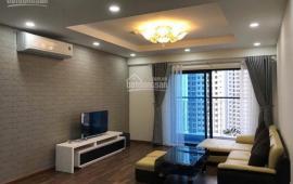 Cho thuê CHCC Golden Palace, tòa B, tầng 22, DT 125m2, 3 PN, đủ nội thất, 21 tr/th, LH 0936.178.336
