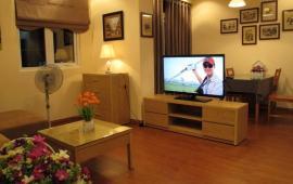 Cho thuê căn hộ chung cư Sudico CT5, 57m2, 2 phòng ngủ, full nội thất 12tr/tháng