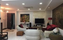 Cho thuê chung cư Chợ Mơ, Q. Hai Bà Trưng, 178m2, 3PN, đầy đủ đồ đạc cao cấp, thiết kế đẹp, 22tr/th