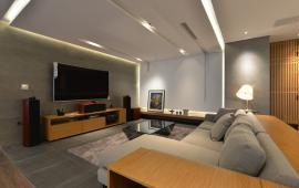Cho thuê căn góc 139m2, 3 phòng ngủ, đủ nội thất tầng 20 chung cư Sky City 88 Láng Hạ