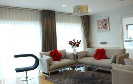 Cho thuê căn hộ 2515 chung cư Goldmark City, DT 120m2, 3pn, đủ đồ, giá 14tr/th. 0936178336