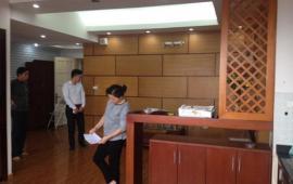 Cho thuê căn hộ chung cư Hà Thành Plaza – 102 Thái Thịnh, 114m, 3 ngủ, k đồ, 10 triệu/ tháng
