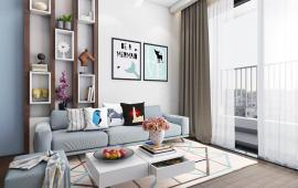 Cho thuê căn tòa B tầng 18, 129m2, 3 phòng ngủ thoáng có ban công, đủ đồ 16 triệu/tháng