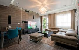 Cho người nước ngoài thuê căn hộ Golden Land, 145m2, 3PN, đủ nội thất, 17 tr/th