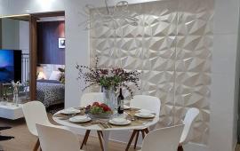 Cho thuê CHCC Golden Palace tầng 25, 120m2, 3 phòng ngủ, nội thất đầy đủ, 18tr/th