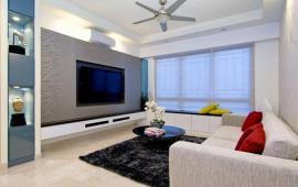 Cho thuê căn hộ chung cư Hòa Bình Green, diện tích 67 m2, thiết kế 2 phòng ngủ, đồ cơ bản, 8tr/th