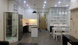 Cho thuê căn hộ chung cư Thăng Long Number One, 130m2, căn góc, 3 phòng ngủ, đủ đồ, 21 tr/ th