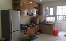 Cho thuê căn hộ 2PN chung cư Thanh Hà, Hà Đông, cách KĐT Xa La 2km, diện tích 65m2. Giá 3 tr/th