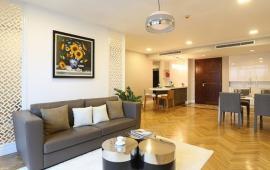 Cho thuê CHCC Vincom Center Bà Triệu, tầng 16, 161m2, 3 phòng ngủ, nội thất đẹp 32tr/tháng