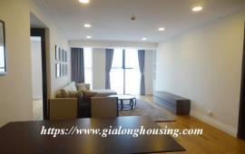 Cho thuê căn hộ 2 phòng ngủ đầy đủ nội thất hiện đại ở chung cư Hoàng Thành, 114 Mai Hắc Đế