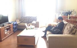 Cho thuê căn hộ 173 Xuân Thủy - Long Giang, 110m2, 3 phòng ngủ, full đồ hết rồi, giá 9 tr/tháng
