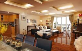 Cho thuê CHCC Pacific tầng 12, 198m2, 3 phòng ngủ, đủ nội thất sịn 32tr/tháng