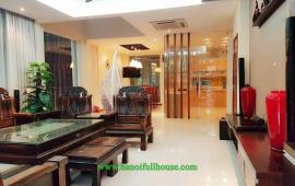 Biệt thự sang trọng đầy đủ nội thất cho người nước ngoài thuê tại khu đô thị Palm Garden Long Biên 0983739032