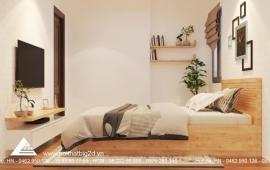 Mới nhận nhà cho thuê căn hộ chung cư Eco Green City, 3 phòng ngủ, 110m2, giá 9 tr/th