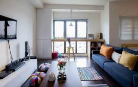 Cho thuê căn hộ tại Home city rộng 105,41m2, 3pn, full nội thất giá 17tr Lh. 0962.809.372