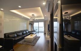 Cho thuê CHCC Timestower tầng 18, căn góc, 134 m2, 3 phòng ngủ sáng, đủ nội thất  17 tr/tháng LH: 0918441990