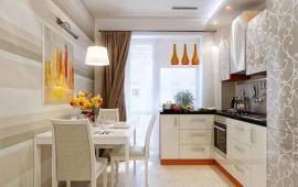 Cho thuê căn hộ cao cấp Chelsea Park, Trung Kính tầng cao view thoáng 100m2, 2PN, đồ nội thất xịn