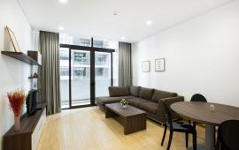 (0989.848.332) Cho thuê gấp căn hộ DT 75m2, 1 phòng ngủ, đủ đồ Tòa Dolphin Plaza giá 14tr/tháng