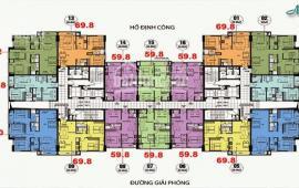 Gấp!!! bán rẻ căn hộ 69.8m2 (2pn,2wc)chung cư CT36 Định Công. Liên hệ 0934542259  nhận nhà luôn.