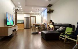 Cho thuê chung cư Five Star số 2 Kim Giang, gần Ngã Tư Sở 3 ngủ đủ đồ như hình giá 14tr, Lh 012 999 067 62