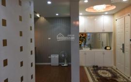 Cho thuê CHCC N09, Dịch Vọng, tầng 12, 130m2, 3 phòng ngủ, đồ cơ bản, 11tr/th.